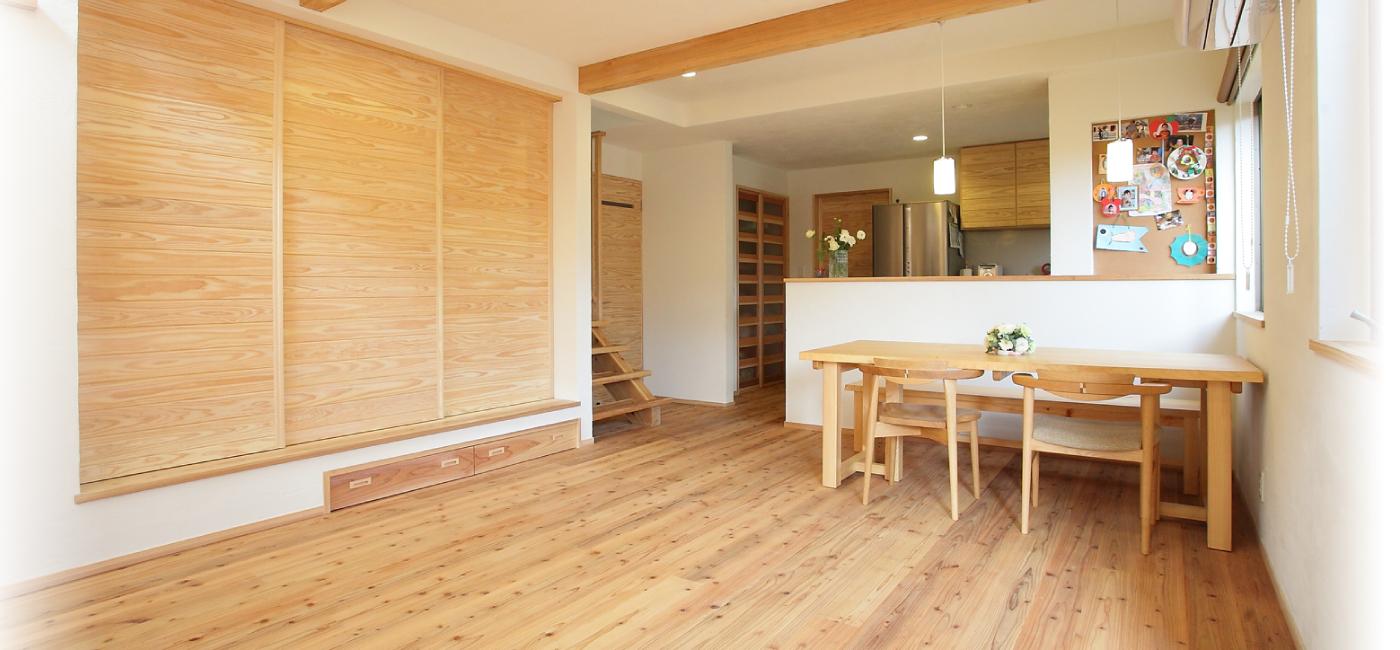 木の家・木の家具をつくるなら株式会社住まいず